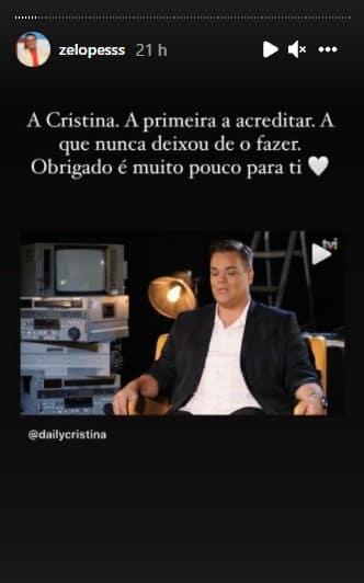 Ze-Lopes-Instastory-Agradecimento-Cristina-Ferreira