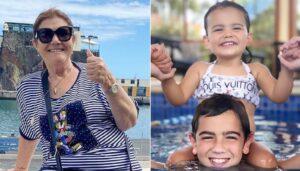 Dolores Aveiro, Netos, Filhos De Katia Aveiro