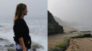 Cristina Ferreira, Mergulho Praia Nevoeiro