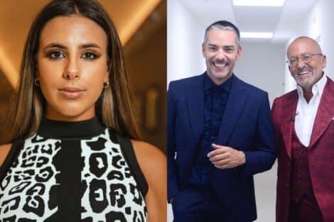 Joana Albuquerque, Cláudio Ramos, Manuel Luís Goucha