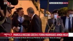 Jornalista Da Sic Cai Ao Entrevistar Marcelo Rebelo De Sousa