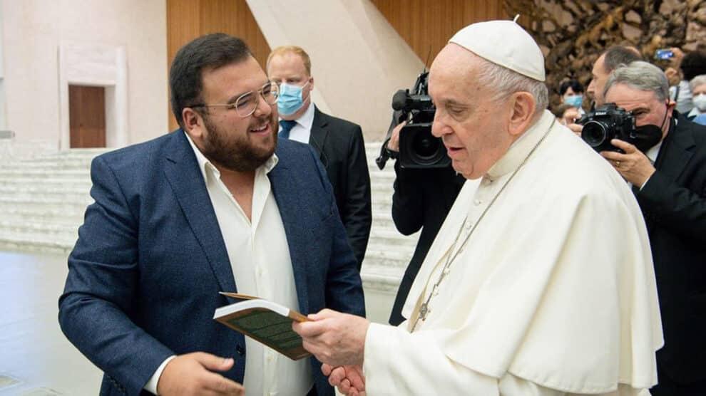 Rúben Pacheco Correia E Papa Francisco