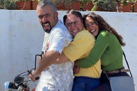Sofia Ribeiro, Quim Roscas, Zeca Estacionâncio